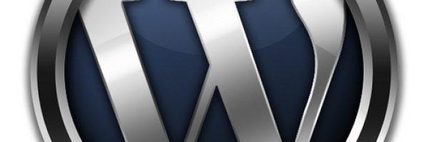 Pretty Awesome 3D Metal Wordpress Logo
